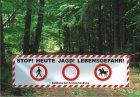 Best.-Nr. 1148 Absperrplane Jagd