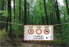 Best.-Nr. 1145 Absperrplane Saarland / Schleswig-Holstein